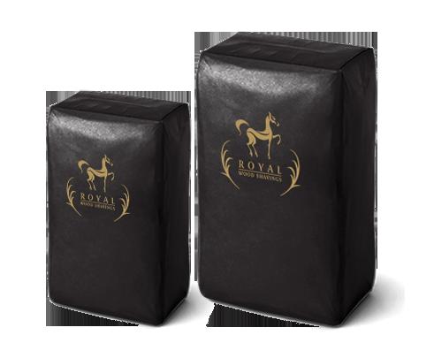 Royal Wood Shavings bags